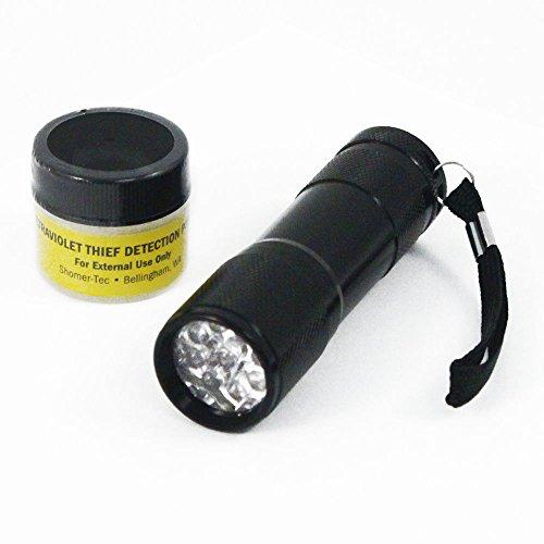 Ultraviolet Theft Detection Powder Flashlight product image