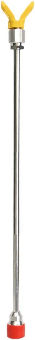 Haudang 1 Pc 20 Pouce Outil de Peinture Pulv/érisation Sans Air P?le Extension 50Cm avec Pointe de Buse Si/ège
