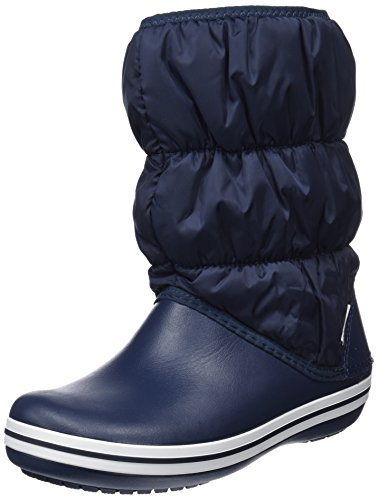 White Crocs Blue 462 Winter Puff Navy Boots Snow Women 0xR0rOqU