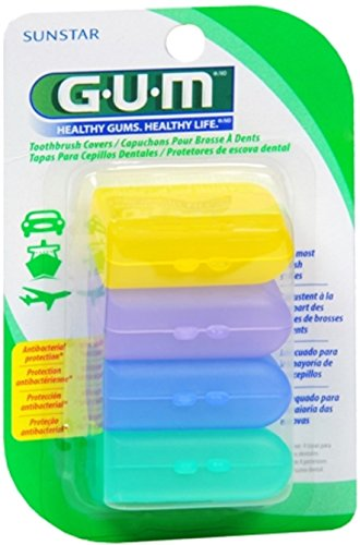 GUM Toothbrush Covers 4 Each