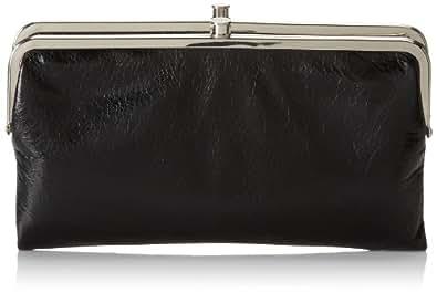 HOBO Womens Vintage Lauren Wallet Vintage Lauren Wallet Black Size: One Size