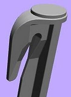 genisys Ganchos estacas para robot cortacésped Juego de accesorios para fijación para limitación Cable suchk Abel