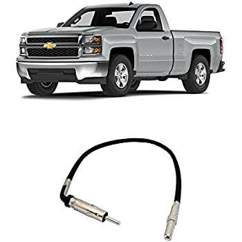 chevy silverado 2007 2014 factory stereo to. Black Bedroom Furniture Sets. Home Design Ideas