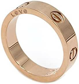 Luxury Shine Celebrity Love Rose Gold-Plated Band Ring for Women