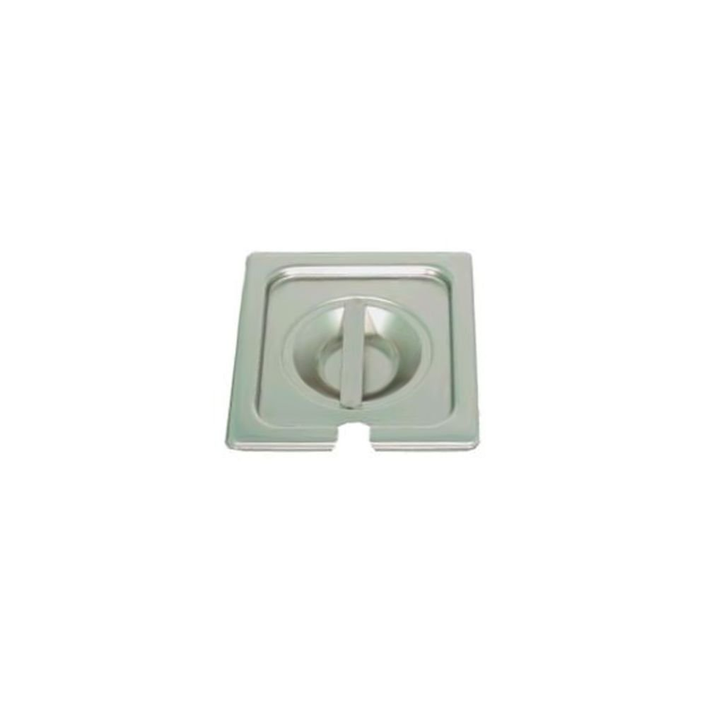 Vollrath 75269 Stainless Steel Slotted 1/6 Size Lid