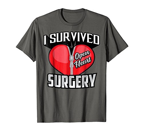 Cute Stylistic I Survived Open Heart Surgery Shirt - Heart Open Cute