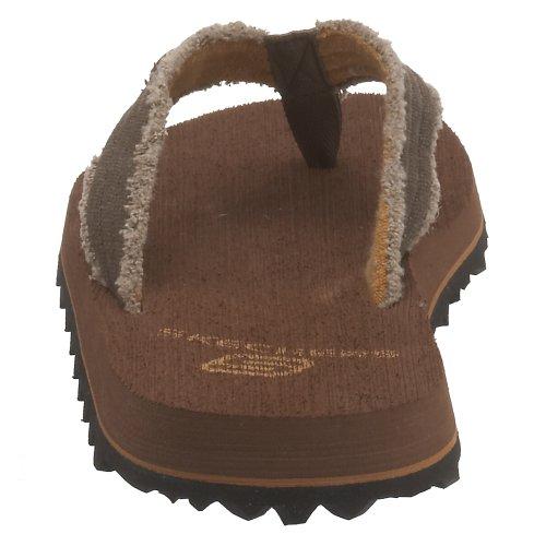 M Thong Skechers Fray Chocolate US 12 Cotton USA Mens p4Bw41R