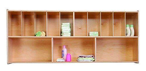 Wood Designs WD21175 Wall Organizer, 25 x 48 x 12'' (H x W x D) by Wood Designs