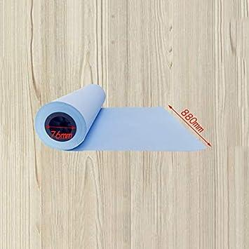 Dibujo Ingeniería De Papel Copia Papel Azul Dibujo Copia Papel De Impresión 80 G Rollo Papel Blanco 3 Pulgadas 440 Mm (4 Rollos) 620 Mm880 Mm (2 Rollos) Ancho 150 M A+ (Tamaño : 440): Amazon.es: Electrónica