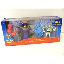 Disney TOY STORY 2 ALs Toy Barn Battle Set ROCK'EM SOCK'EM Robots Buzz Lightyear Evil Emperor Zurg New In Box Rare Hard to Find Mattel