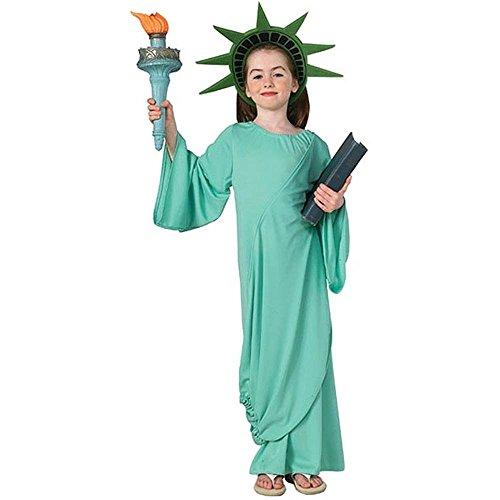 Statue of Liberty Kids Costume (Child Costume Of Liberty Statue)