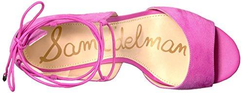 Hot Sam Sandal Suede Dress Edelman Pink Women's Serene F4qZR