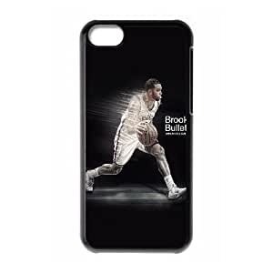iPhone 5c Cell Phone Case Black hb06 deron williams brooklyn bullet nba basketball sports U5S1VS