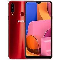 "Samsung Galaxy A20s (SM-A207F/DS) Dual SIM, 32GB, 6.5"", GSM Factory Unlocked - International Version - No Warranty - Red"