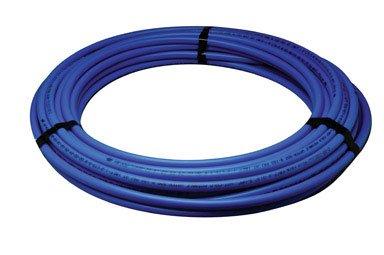 Zurn Q4PC300XBLUE PEX Hot/Cold Potable Non-Barrier Tubing Coil, 3/4'' Diameter, 300' Length, 0.75'' OD, Plastic, Blue