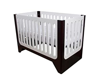 Arm's Reach Concepts Aurora Contempo 4-in-1 Designer Crib, Espresso