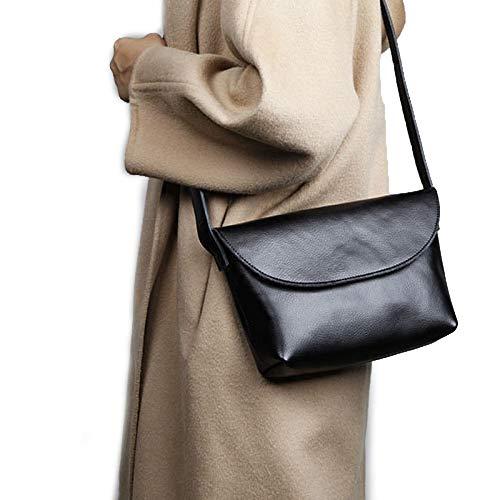 in multicolore Borsa tracolla a donna nera pelle da semplice donna Piccola Gtyw Messenger wqZXxf0Z