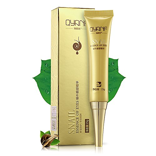 VK 15g Safe Snail Essence Moisturizing Anti-Aging Eyes Repair Serum Firming Wrinkle Remover Skin Care Suitable for All Skin (Repair Essence)