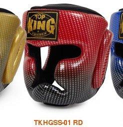 訳あり トップキング 赤 TOP KING KING キックボクシング ヘッドギア B00RB9QCJQ スーパースター 赤 Sサイズ B00RB9QCJQ, 鹿西町:ec10d8c5 --- a0267596.xsph.ru