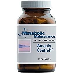 Metabolic Maintenance Anxiety Control , 90 Capsules