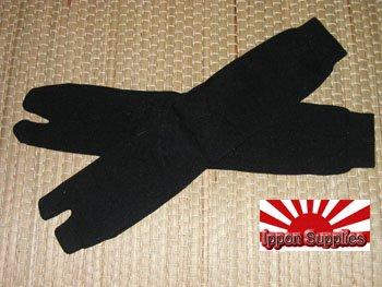 1 Pair - Black Japanese Tabi Socks
