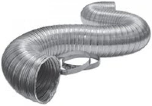 x 8-Ft. LAMBRO INDUSTRIES Aluminum Duct Pipe Flexible 3-In
