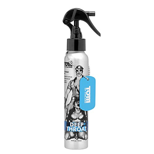 Tom of Finland Deep Throat Numbing Spray, 4 Fluid Ounce