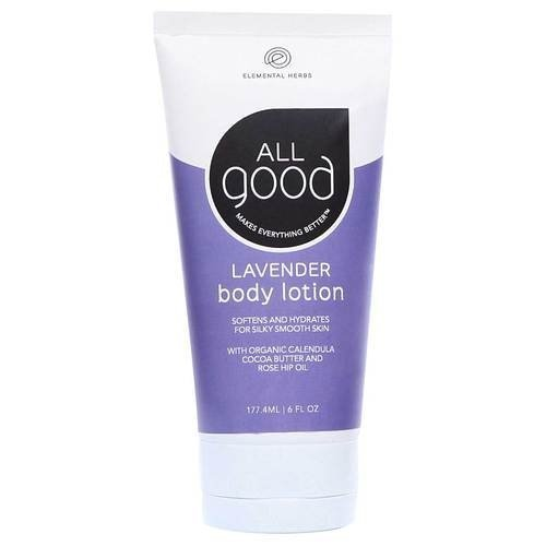 Elemental Herbs - All Good Body Lotion Lavender - 6 oz.