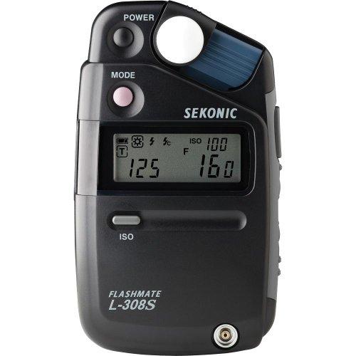 Sekonic L-308S Flashmate Digital Incident, Reflected & Flash