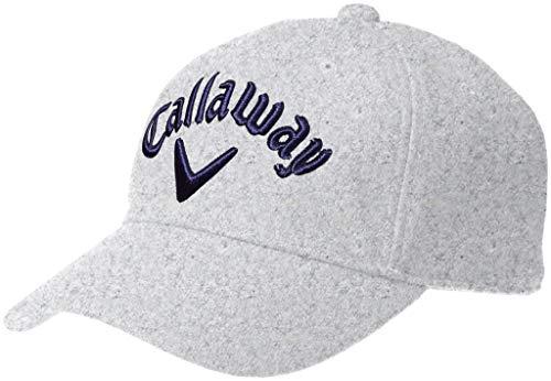 [キャロウェイ アパレル][メンズ] フランネル キャップ (サイズ調整可能) / 241-8284604 / 帽子 ゴルフ メンズ