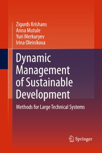 Download Dynamic Management of Sustainable Development: Methods for Large Technical Systems Pdf