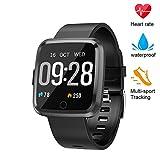 beitony Fitness Tracker, Smart Watch with Blood Pressure/Oxygen Monitor, Waterproof Fitness Watch, Big