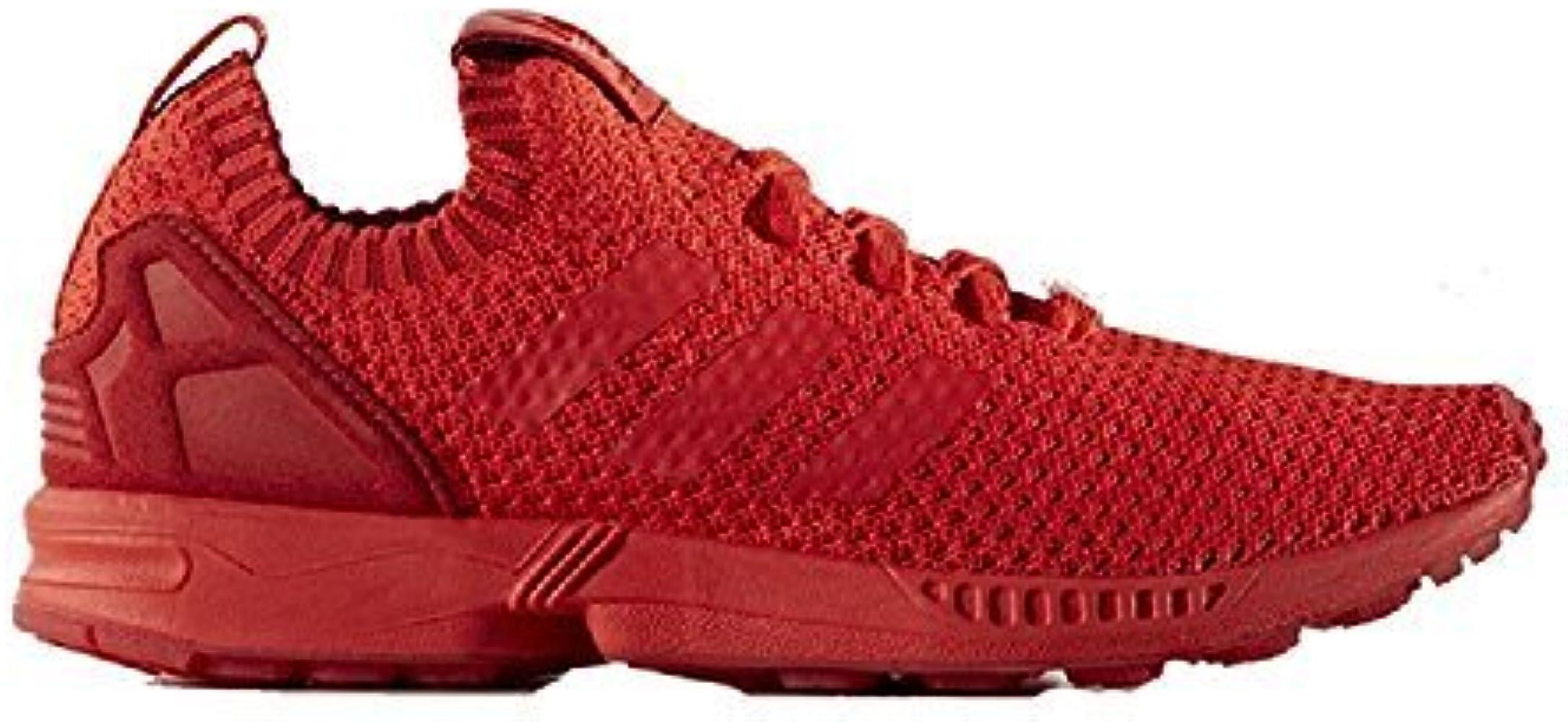 adidas zx flux rosso uomo