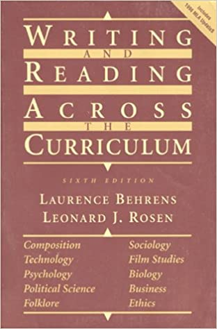 Catalog Record: Writing research papers across the curriculum | Hathi Trust Digital Library