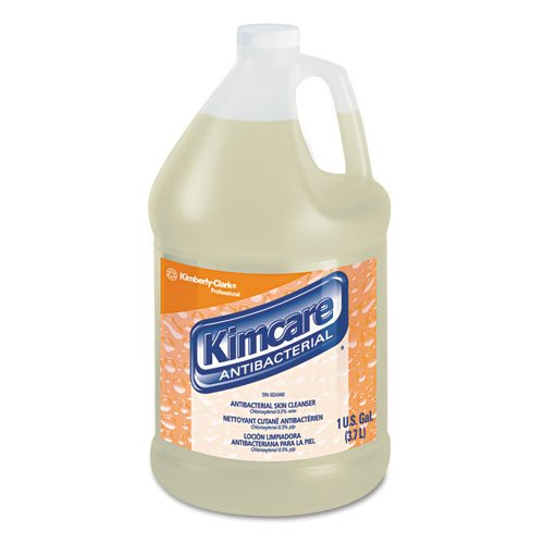 KIMBERLY-CLARK PROFESSIONAL* KIMCARE ANTIBACTERIAL Skin Cleanser w/PCMX, Floral, 1gal, Bottle - Includes four per - Antibacterial Professional Kimcare