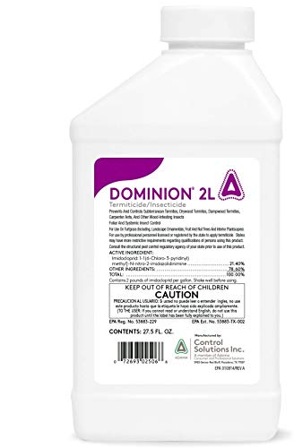 Control Solutions Inc. - 82002506 - Dominion 2l - Insecticide - 27.5 oz (Best Insecticide For Termites)