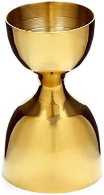 Gold Cocktail Kingdom Leopold Jigger 1oz//2oz
