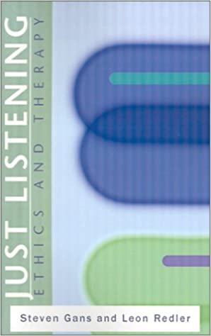 Book Just Listening: Ethics and Therapy