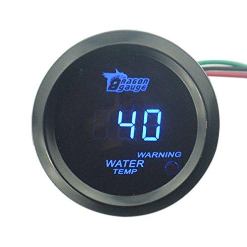 blau PIXNOR Auto Digital LED K/ühlwasserthermometer