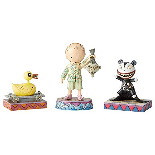 Enesco Jim Shore Disney Traditions Nightmare Before Christmas Figurine Set of 3 ()