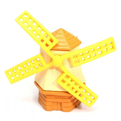 (Decorative Decorative - Hgho Miniature Windmill Dollhouse Garden Fairy Ornament Pot Plant Craft Home Decor - Terrarium Fairy Ball Frame Ceramic Garden Flower Diy Stuffed Satin Corn Doll Fairy In)