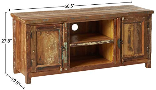 Coaster Home Furnishings Handcrafted TV Console Reclaimed Wood
