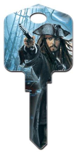 Capt'n Jack Sparrow Kwikset House Key (KW-D27)