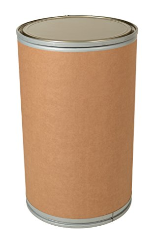 - Vestil FD-55 Fiber Open Head Drum, 55 Gallon Capacity, 35-1/8
