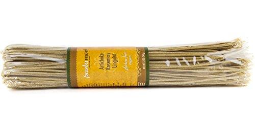 Pastamore Gluten-Free Pasta, Artichoke Rosemary Linguini, 12 Ounce