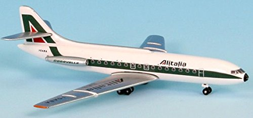 InFlight500 Alitalia Airlines SUD Caravelle I-DABA SE-210 1:500 Scale Diecast Model