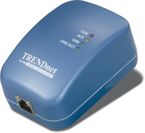UPC 710931506020, TRENDnet Powerline 10/100 Ethernet