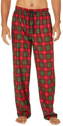 red and green plaid pants - Pi Pants