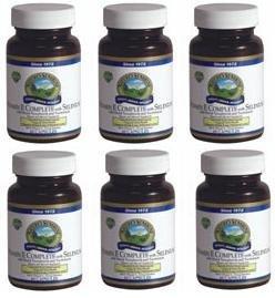 Naturessunshine Витамин Е В комплекте с Селен 400 МЕ Поддержка системы кровообращения 60 мягких капсул (упаковка 6)