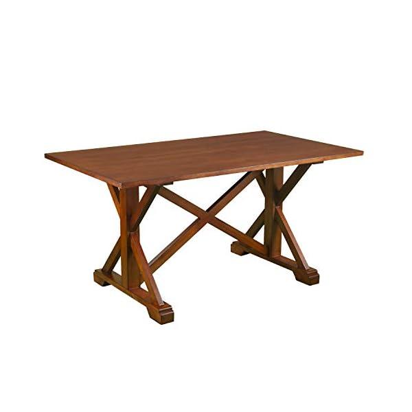 Southern Enterprises Cardwell Farmhouse Dining Table, Multicolor